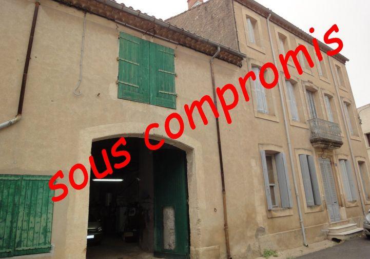 A vendre Maison de village Nissan Lez Enserune   Réf 34092989 - Agence biterroise immobilière