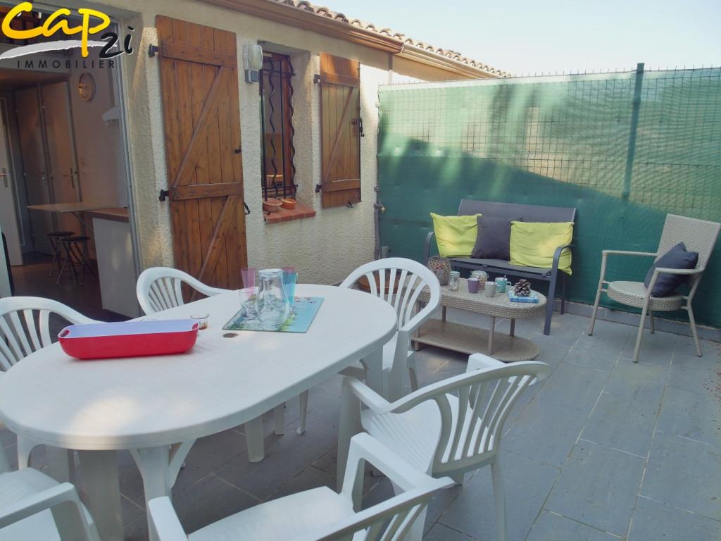 en location saisonnière  Le Cap D'agde   Réf 340941011 - Cap 2i immobilier