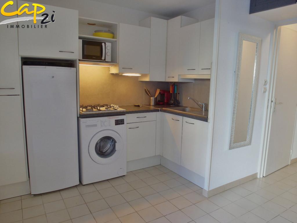 en location saisonnière  Le Cap D'agde   Réf 340941116 - Cap 2i immobilier