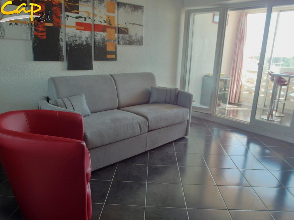 En location saisonnière Le Cap D'agde 340941269 Cap 2i immobilier