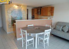 en location saisonnière Appartement en résidence Le Cap D'agde | Réf 340941398 - Cap 2i immobilier