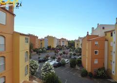 en location saisonnière Appartement en résidence Le Cap D'agde   Réf 340941519 - Cap 2i immobilier