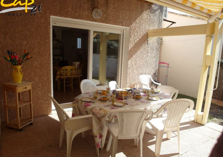 en location saisonnière Maison en résidence Le Cap D'agde | Réf 340941531 - Cap 2i immobilier