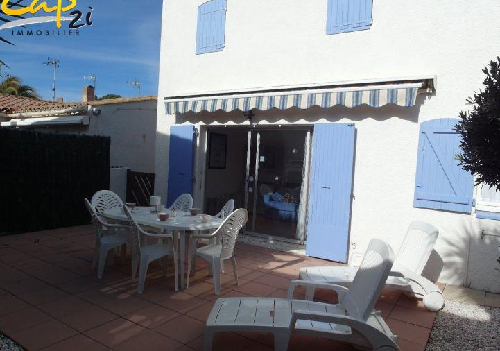 en location saisonnière Maison en résidence Le Cap D'agde | Réf 340941550 - Cap 2i immobilier