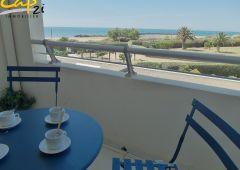 en location saisonnière Appartement en résidence Le Cap D'agde   Réf 340941575 - Cap 2i immobilier