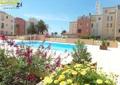 en location saisonnière Appartement en résidence Le Cap D'agde   Réf 340941579 - Cap 2i immobilier