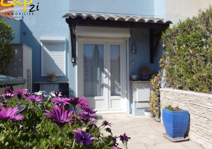 en location saisonnière Maison en marina Le Cap D'agde | Réf 34094213 - Cap 2i immobilier