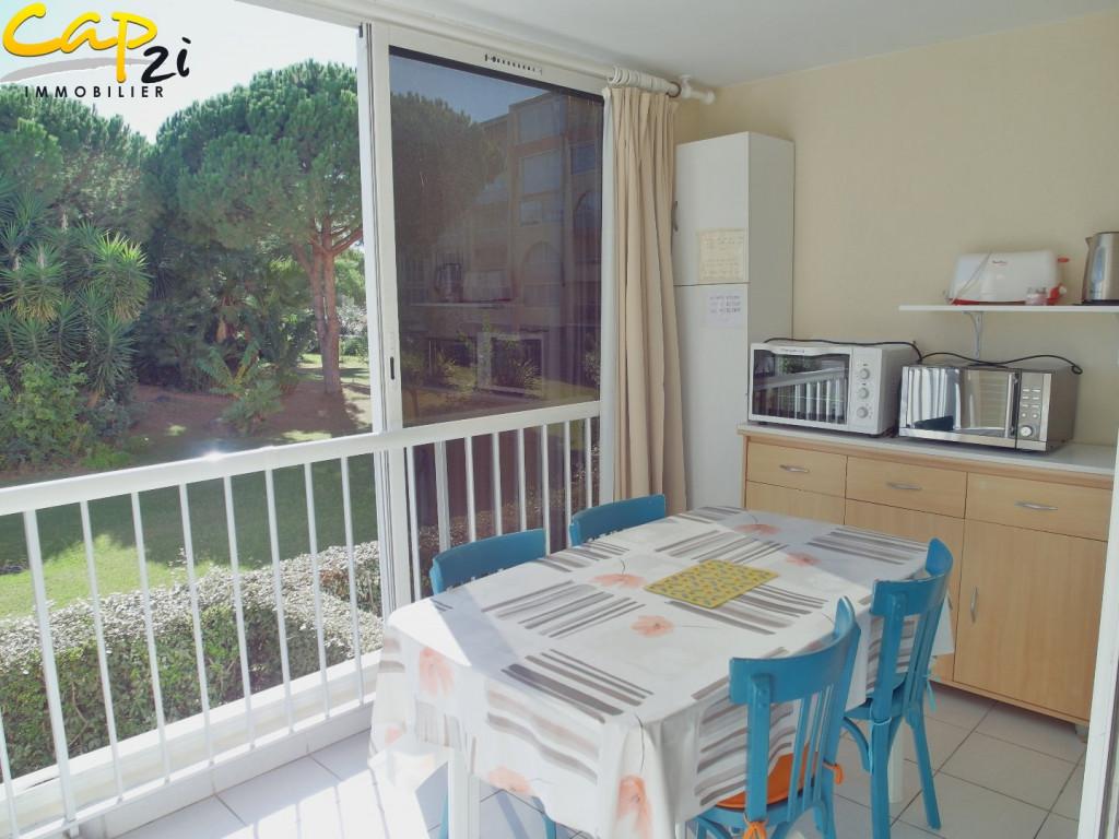 En location saisonnière Le Cap D'agde 34094324 Cap 2i immobilier