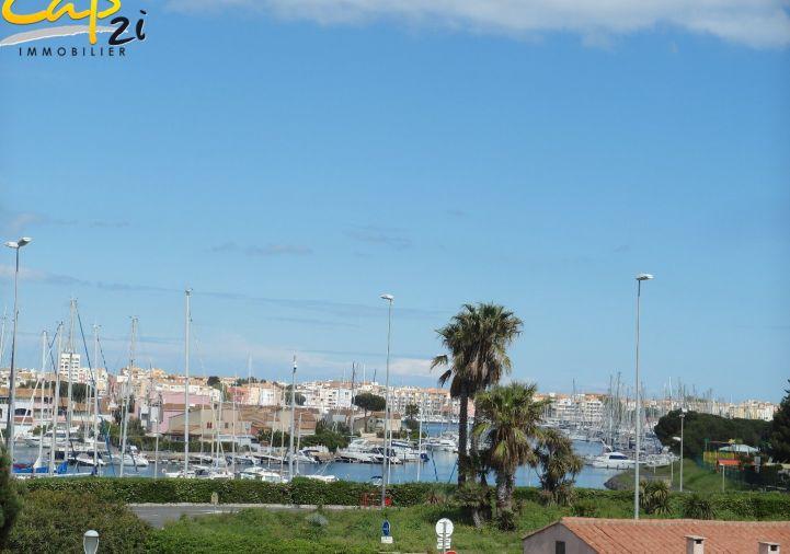 En location saisonnière Le Cap D'agde 34094325 Cap 2i immobilier