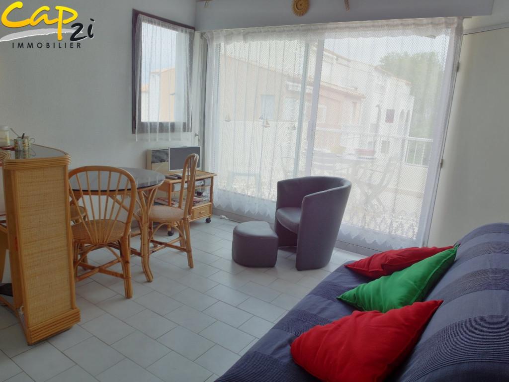 En location saisonnière Le Cap D'agde 34094413 Cap 2i immobilier