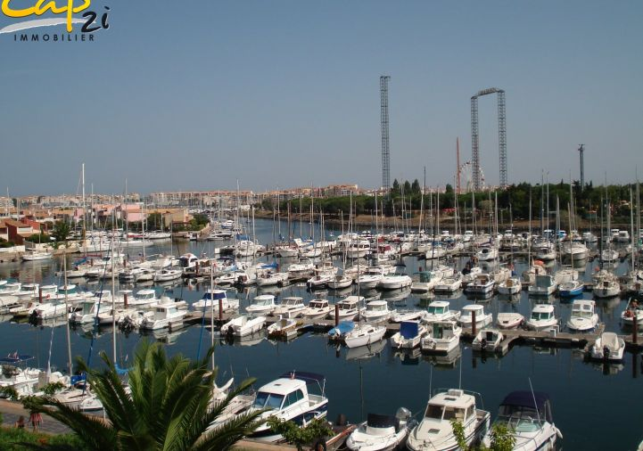 en location saisonnière Appartement en résidence Le Cap D'agde | Réf 34094496 - Cap 2i immobilier