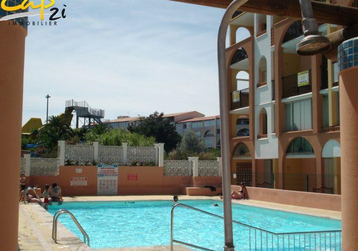 en location saisonnière Appartement en résidence Le Cap D'agde | Réf 34094587 - Cap 2i immobilier
