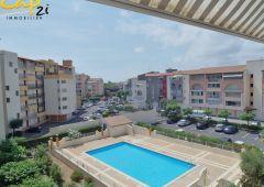 en location saisonnière Appartement cabine Le Cap D'agde   Réf 34094602 - Cap 2i immobilier
