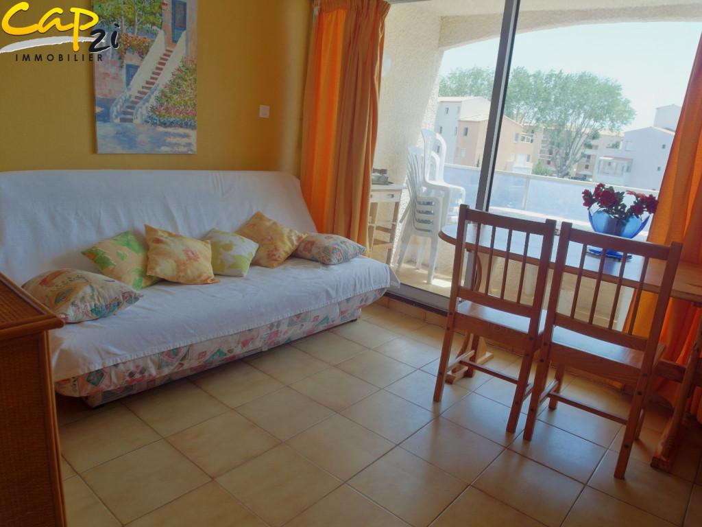 En location saisonnière Le Cap D'agde 34094612 Cap 2i immobilier