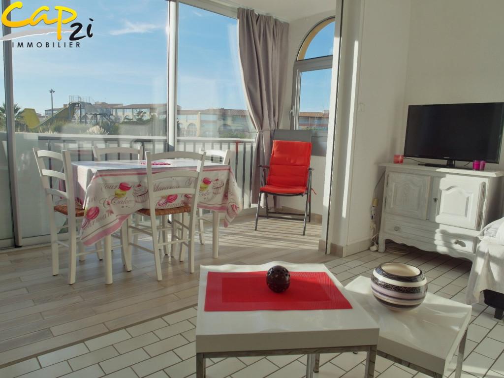 en location saisonnière  Le Cap D'agde | Réf 34094809 - Cap 2i immobilier