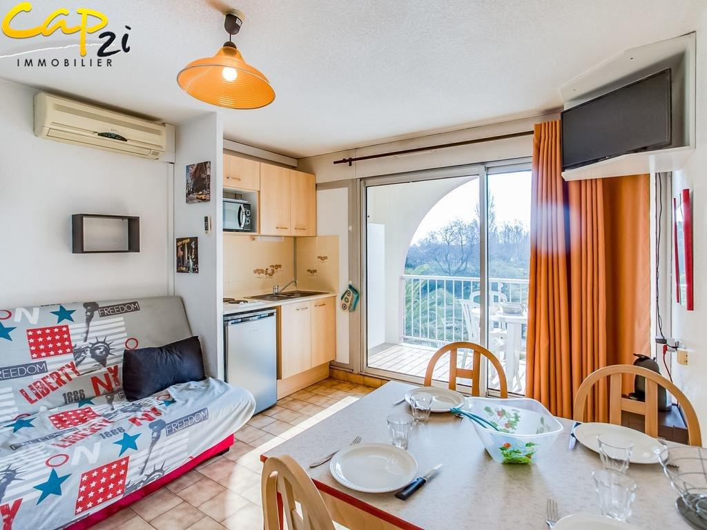 en location saisonnière  Le Cap D'agde | Réf 34094975 - Cap 2i immobilier