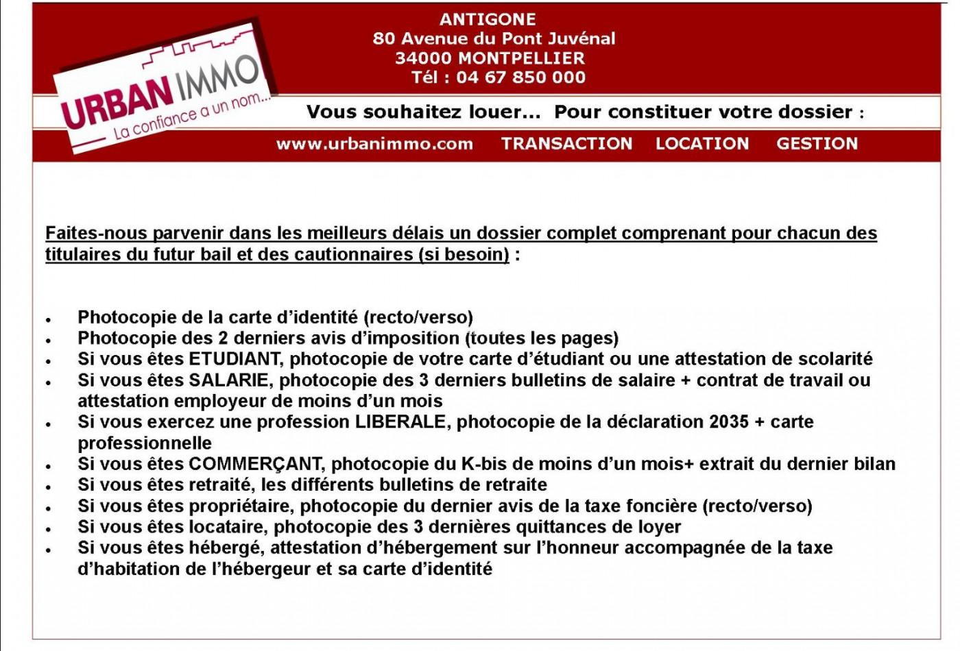 A louer Castelnau Le Lez 3410425258 Urban immo