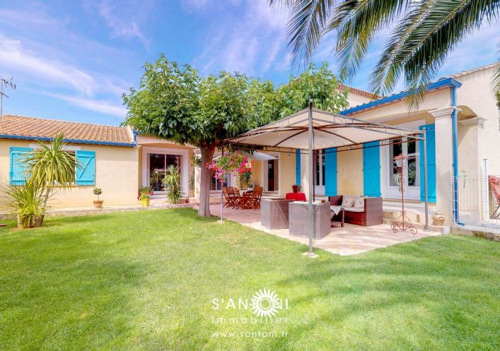 A vendre Sauvian 3412834589 S'antoni immobilier prestige