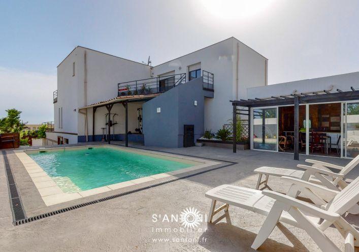 A vendre Villa d'architecte Villeneuve Les Beziers | Réf 3412837042 - S'antoni immobilier prestige