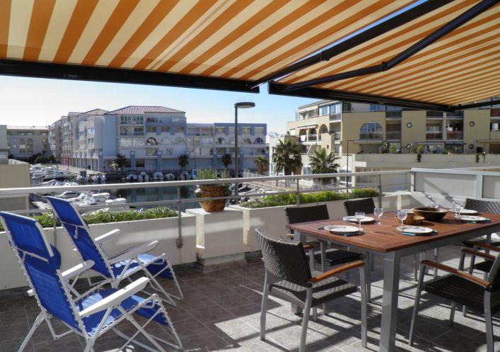 en location saisonnière Appartement Sete   Réf 341451640 - Agence amarine