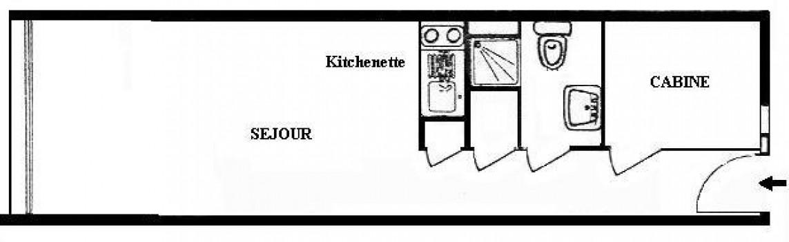 en location saisonnière  Sete   Réf 341451663 - Agence amarine