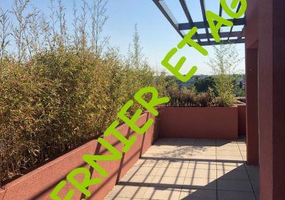 A vendre Appartement terrasse Montpellier   Réf 341464787 - Unik immobilier
