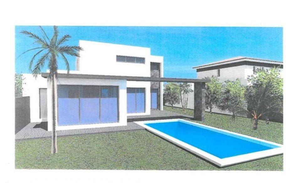 villa d 39 architecte en vente le grau d 39 agde santoni immobilier grau d 39 agde. Black Bedroom Furniture Sets. Home Design Ideas