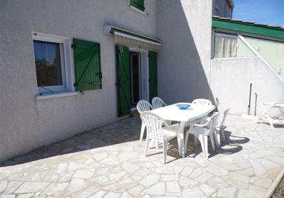 en location saisonnière Maison jumelée Marseillan Plage   Réf 3414831120 - Adaptimmobilier.com