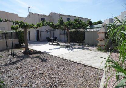 en location saisonnière Maison jumelée Marseillan Plage | Réf 3414831504 - Adaptimmobilier.com