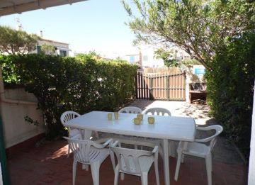 for seasonal lettings Appartement cabine Marseillan Plage | R�f 3414831828 - S'antoni real estate