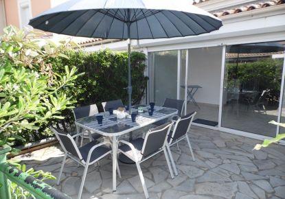 en location saisonnière Maison jumelée Marseillan Plage | Réf 3414832187 - Adaptimmobilier.com