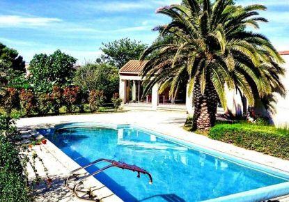 en location saisonnière Villa Le Grau D'agde   Réf 3414833964 - Adaptimmobilier.com