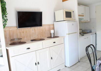 en location saisonnière Studio cabine Marseillan Plage   Réf 3414837095 - Adaptimmobilier.com