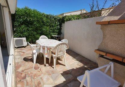 en location saisonnière Maison jumelée Marseillan Plage   Réf 3414837211 - Adaptimmobilier.com