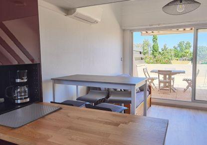 en location saisonnière Appartement Marseillan Plage   Réf 3414837346 - Adaptimmobilier.com