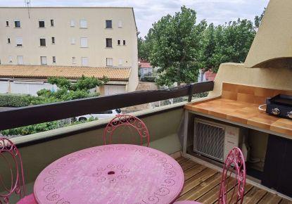 en location saisonnière Appartement mezzanine Marseillan Plage   Réf 3414839543 - Adaptimmobilier.com