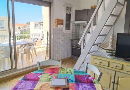 en location saisonnière Appartement Marseillan Plage   Réf 3414839673 - Adaptimmobilier.com