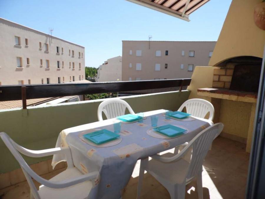 En location saisonnière Marseillan Plage 3414911727 S'antoni immobilier agde centre-ville