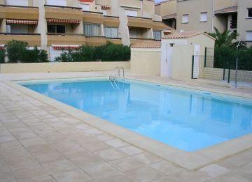 For seasonal lettings Marseillan Plage 3414911744 S'antoni real estate