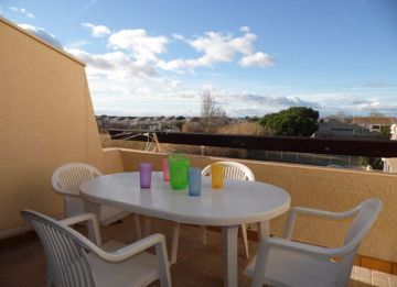 For seasonal lettings Marseillan Plage 3414911754 S'antoni real estate