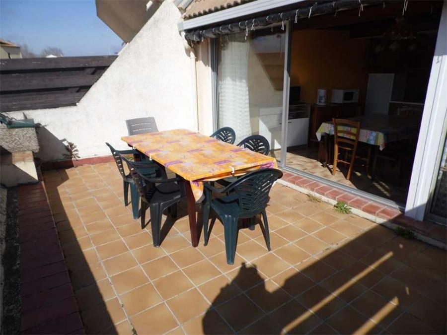 En location saisonnière Marseillan Plage 3414911787 S'antoni immobilier agde