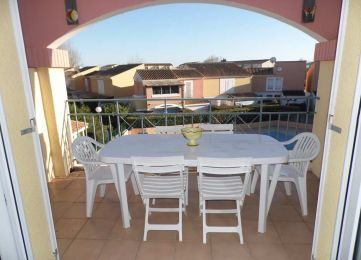 En location saisonnière Marseillan Plage 3414914246 S'antoni immobilier agde
