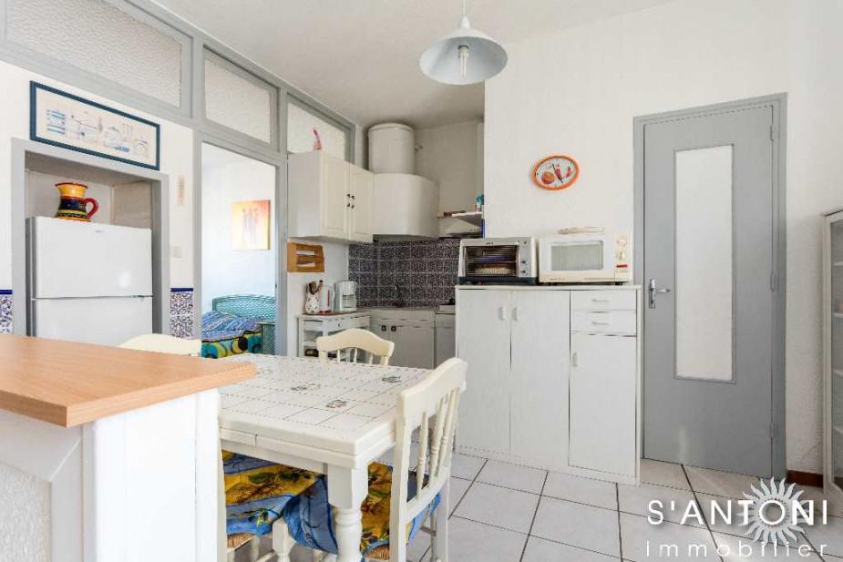 A vendre Marseillan Plage 3414914833 S'antoni immobilier agde centre-ville