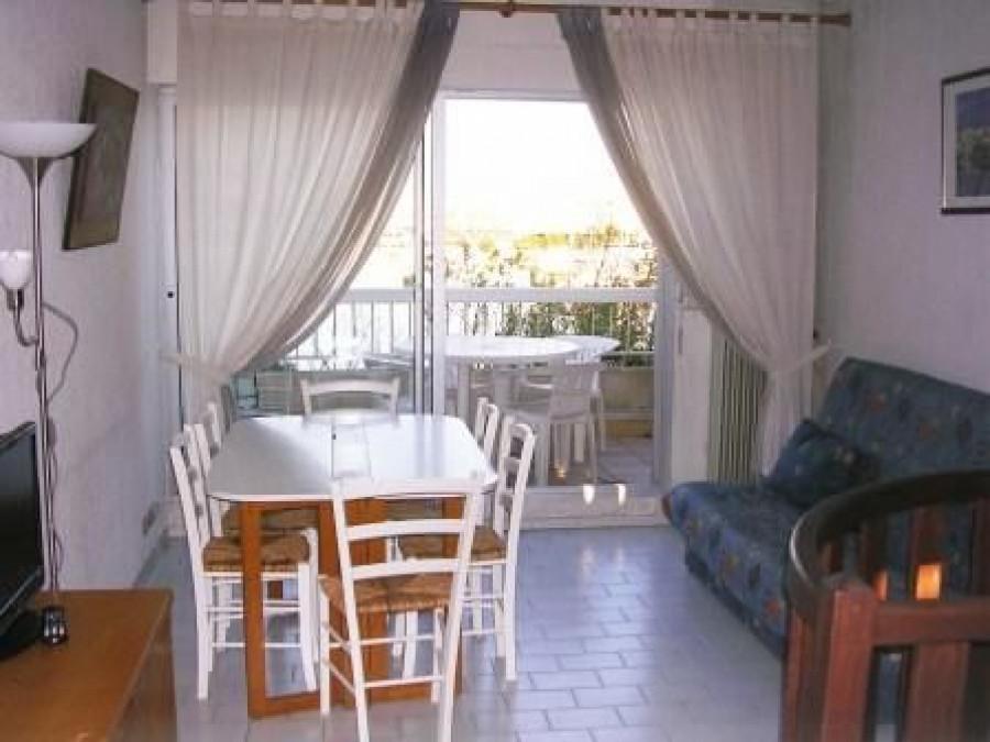 En location saisonnière Le Cap D'agde 3414919400 S'antoni immobilier marseillan centre-ville