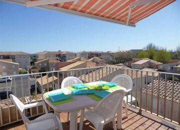 For seasonal lettings Marseillan Plage 3415027728 S'antoni real estate