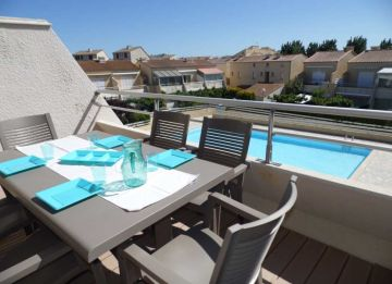 For seasonal lettings Marseillan Plage 3415511672 S'antoni real estate