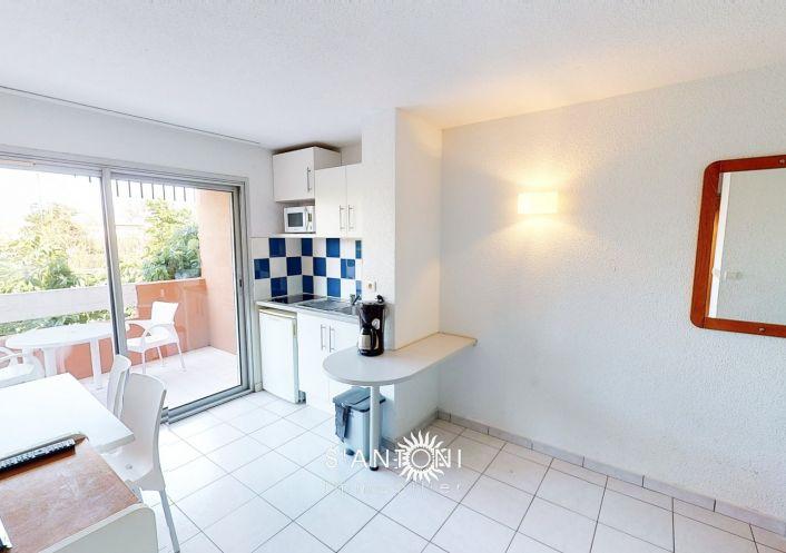 A vendre Appartement Le Cap D'agde   Réf 3415039425 - S'antoni immobilier cap d'agde