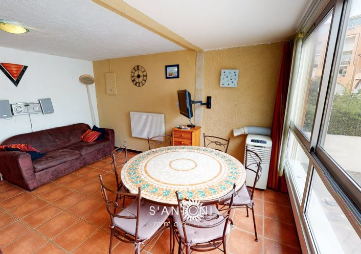 A vendre Appartement en résidence Le Cap D'agde   Réf 3415040173 - S'antoni immobilier cap d'agde