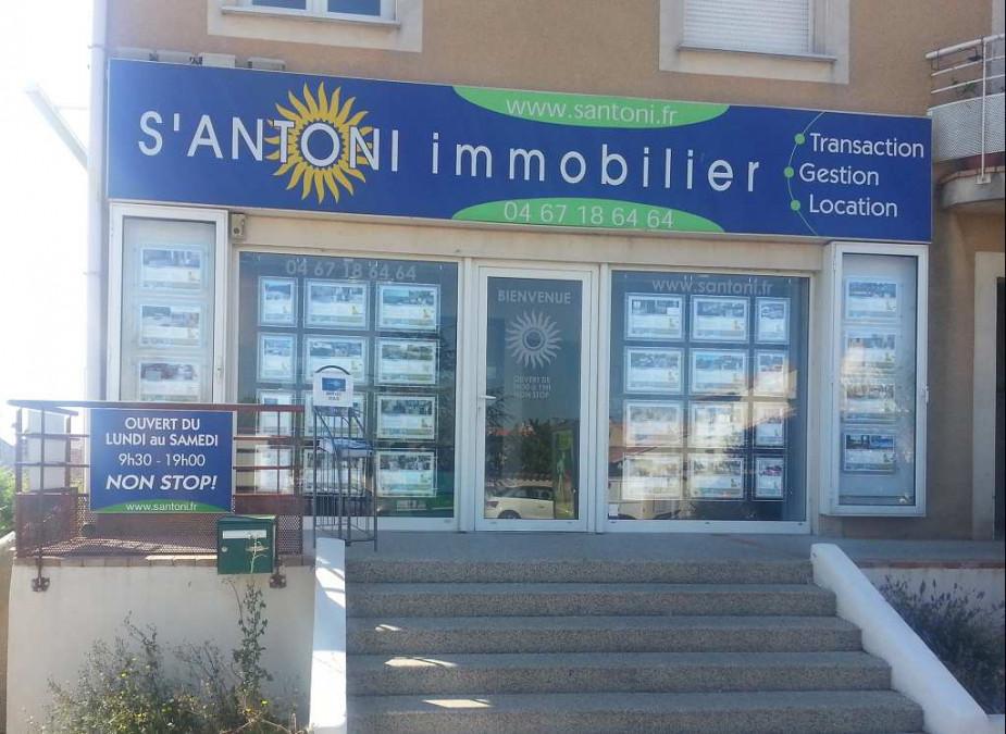 A vendre Meze 3415126290 S'antoni immobilier marseillan centre-ville
