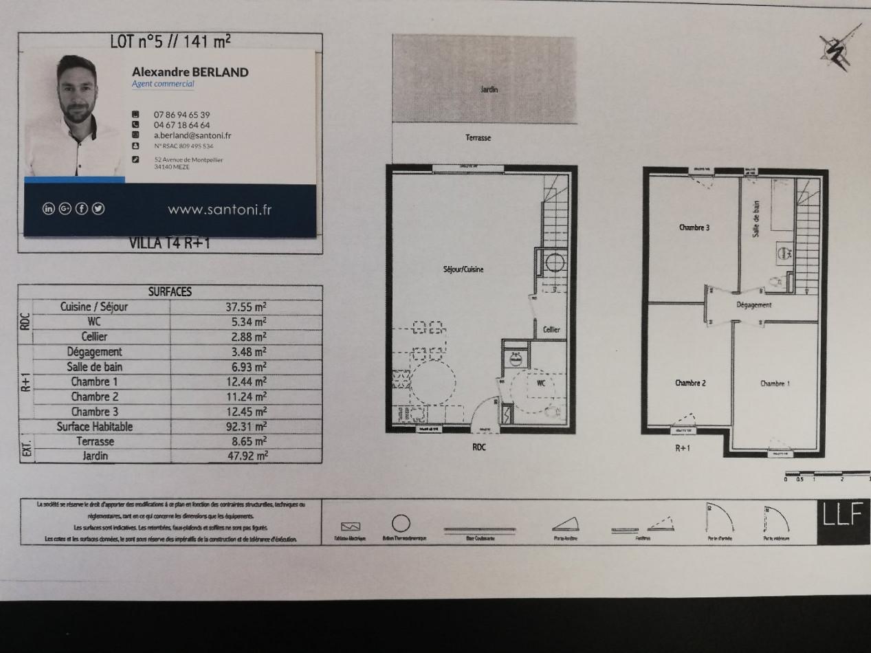 A vendre Poussan 3415133573 S'antoni immobilier